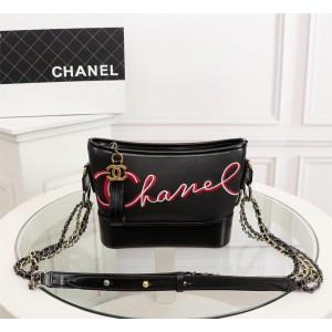 Chanel Gabrielle Small Hobo Bags CH140-Black