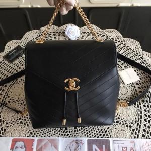 Chanel Backpacks CH038-Black