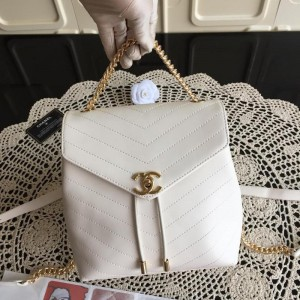 Chanel Backpacks CH038-White