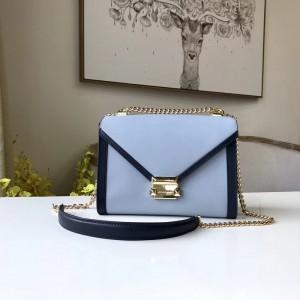 Michael Kors Shoulder Bags Blue Black (MK766)