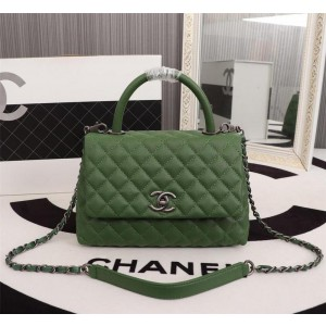 Chanel Top Handle Flap Bags CH054-Green