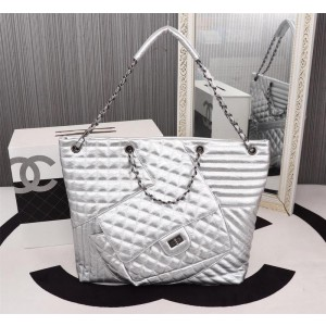 Chanel Tote Bags CH008-Silver