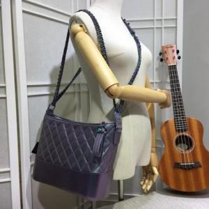 Chanel Gabrielle Large Hobo Bags CH061L-Purple