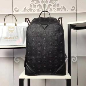 2018 New MCM Man Backpack 21182 Black 30*41*18cm