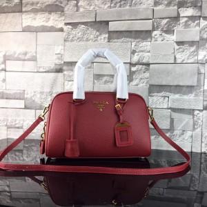 2018 New Prada Handbags 569 Dark Red 31*20.5*13