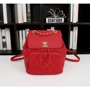 Chanel Backpacks CH076-Red