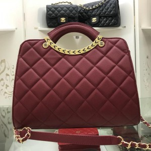 Chanel Top Handle Crossbody Bags CH083-Red