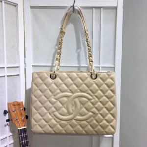 Chanel Tote Bags CH028-Apricot