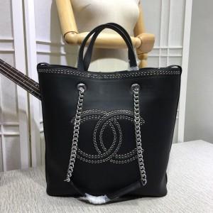 Chanel Bucket Tote Bags CH096-Black