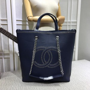Chanel Bucket Tote Bags CH096-Blue