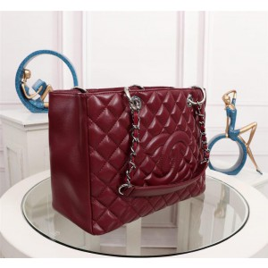 Chanel Totes CH099-Wine-Red