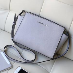 Michael Kors Selma Crossbody Bag Light Gray (MK028)