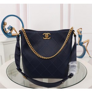 Chanel Hobo Handbag CH013-Blue