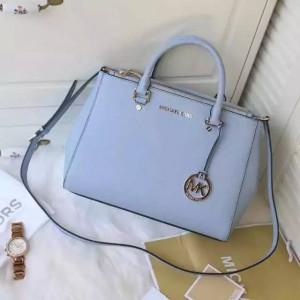 Michael Kors Killer Bag Medium Size Satchel Sky Blue (MK176)