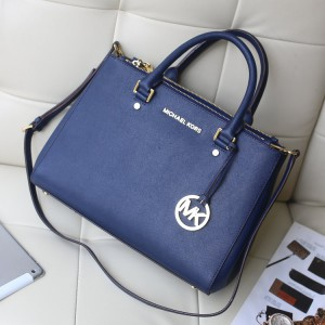 Michael Kors Killer Bag Satchel Dark Blue (MK056)