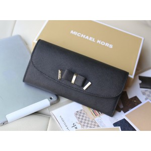 Michael Kors Butterfly Wallet Black (MK101)