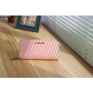 Michael Kors Zipper Wallet Shrimp Pink (MK185)