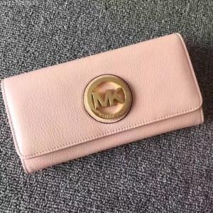Michael Kors Tri-fold Wallet Naked Pink (MK375)