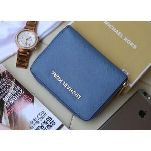 Michael Kors Short Zip Wallet Car Daisy (MK276)