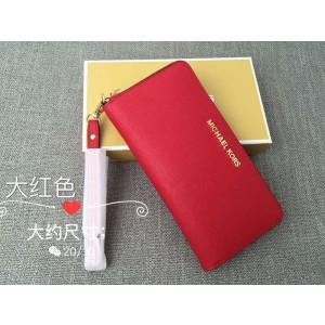 Michael Kors Wrist Long Wallet Red (MK318)