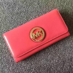 Michael Kors Tri-fold Wallet Rose Red (MK376)