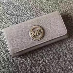 Michael Kors Tri-fold Wallet Gray (MK378)