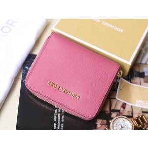Michael Kors Short Zip Wallet New Color Tulip (MK252)