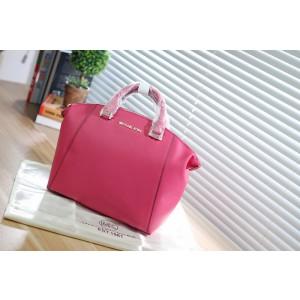 Michael Kors Dumpling Bag Satchel Rose Red (MK149)