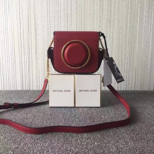 Michael Kors Camera Bag Wine Red (MK369)
