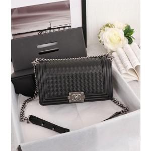 Chanel BOY CHANEL Handbag CH104-Black