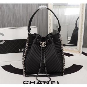 Chanel Bucket Bags CH041V-Black