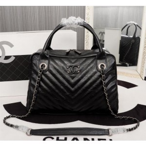Chanel Top Handle Shoulder Bags CH114-Black