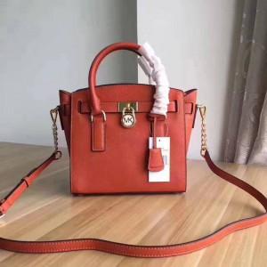 Michael Kors Lock Shoulder Bags Orange (MK404)