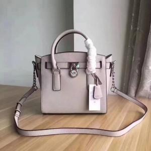 Michael Kors Lock Shoulder Bags Gray (MK405)