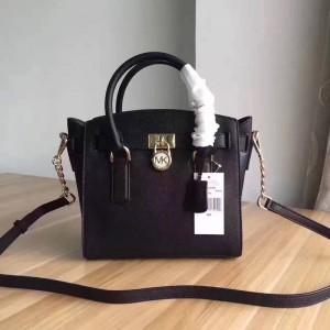 Michael Kors Lock Shoulder Bags Black (MK407)