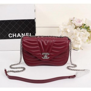 Chanel Small Flap Bags CH139-Wine-Red
