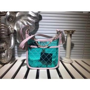 Chanel PVC Jelly Bag CH147-Green