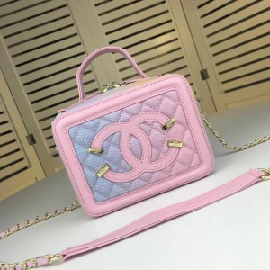 Chanel Makeup Shoulder Bags CH148-Pink-Rainbow