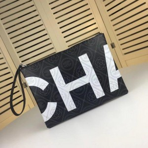 Chanel Pouches CH153-Black