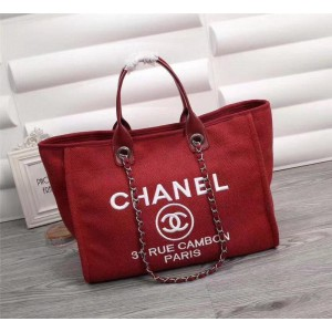 Chanel Beach Totes CH020-Red