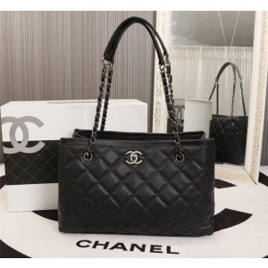 Chanel Top Handle Tote Bags CH161-Black