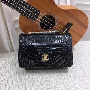 Chanel Small Classic Handbag CH030C-Black