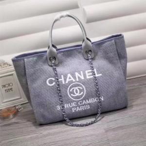 Chanel Beach Totes CH020-Light-Blue