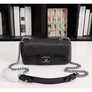 Chanel Small Flap Bags CH164-Black