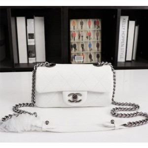 Chanel Small Flap Bags CH164-White