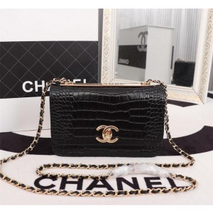 Chanel Wallet On Chain CH166-Black