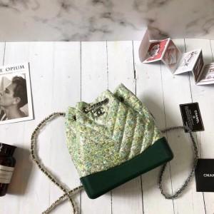 Chanel Gabrielle Backpacks CH172-Green