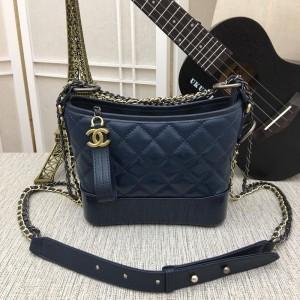 Chanel Gabrielle Small Hobo Bags CH195-Blue