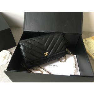 Chanel Wallet On Chain CH200-Black