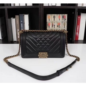Chanel BOY CHANEL Handbag CH208-Black